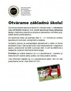 Petržalka škola 2019