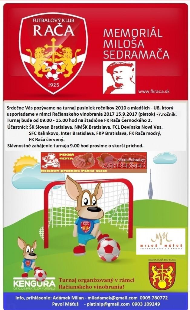 Rača - memoriál Sedramáča 2017