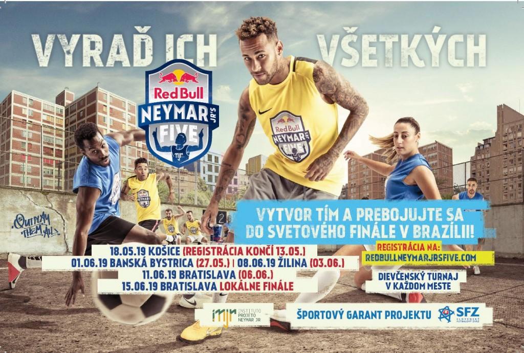 Redbull Neymar pouličný turnaj