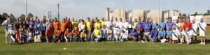 Spoločné foto zúčastnených družstiev