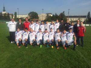 Výber BFZ U15 Moravia Danubia cup 2017 Brno