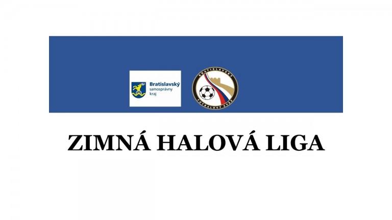 Zimná halová liga logo