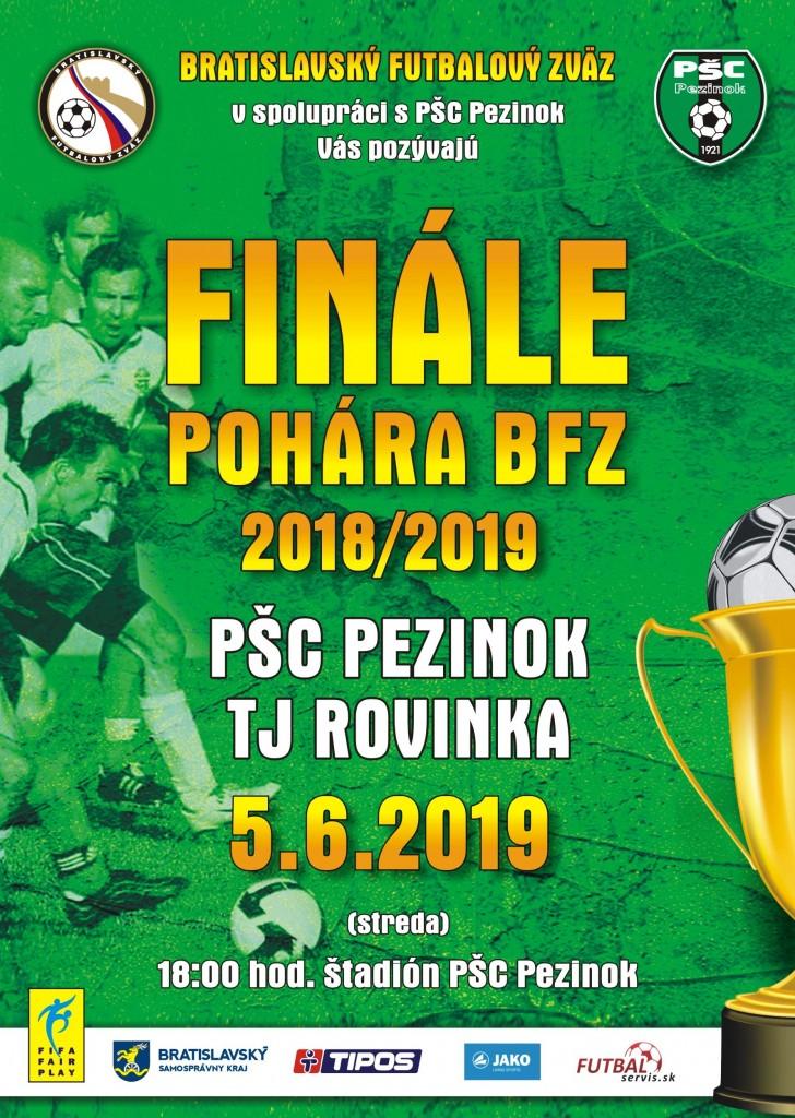pohar BFZ 2019 plagat