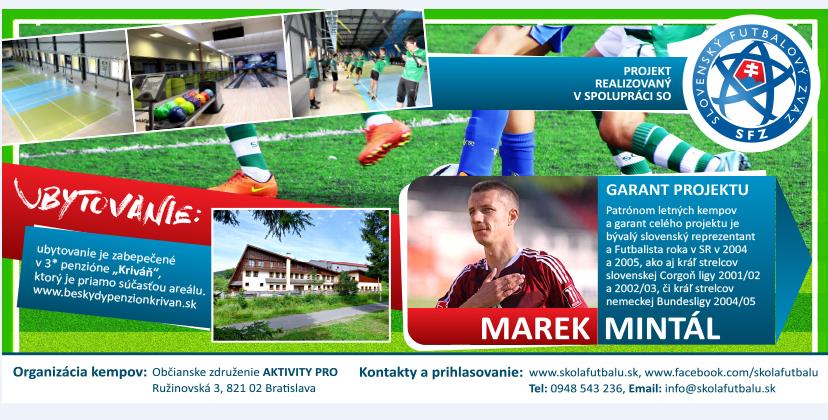 bacc77f494e92 LETNÝ FUTBALOVÝ KEMP | Bratislavský Futbalový Zväz
